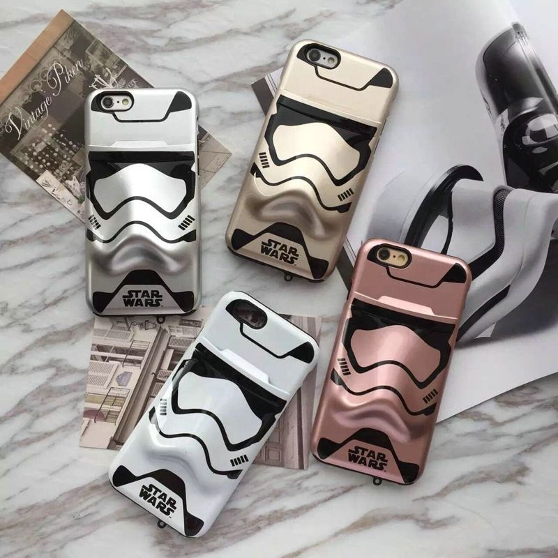 3d star wars stormtrooper shockproof durable anti scratch case for