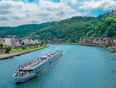 Winner will receive one $10,000.00 eight-day cruise for two people aboard ms River Voyager in one cabin assigned per cruise details certificate. Round trip coach-class airfare & Transfers are included. You may enter only once per day.