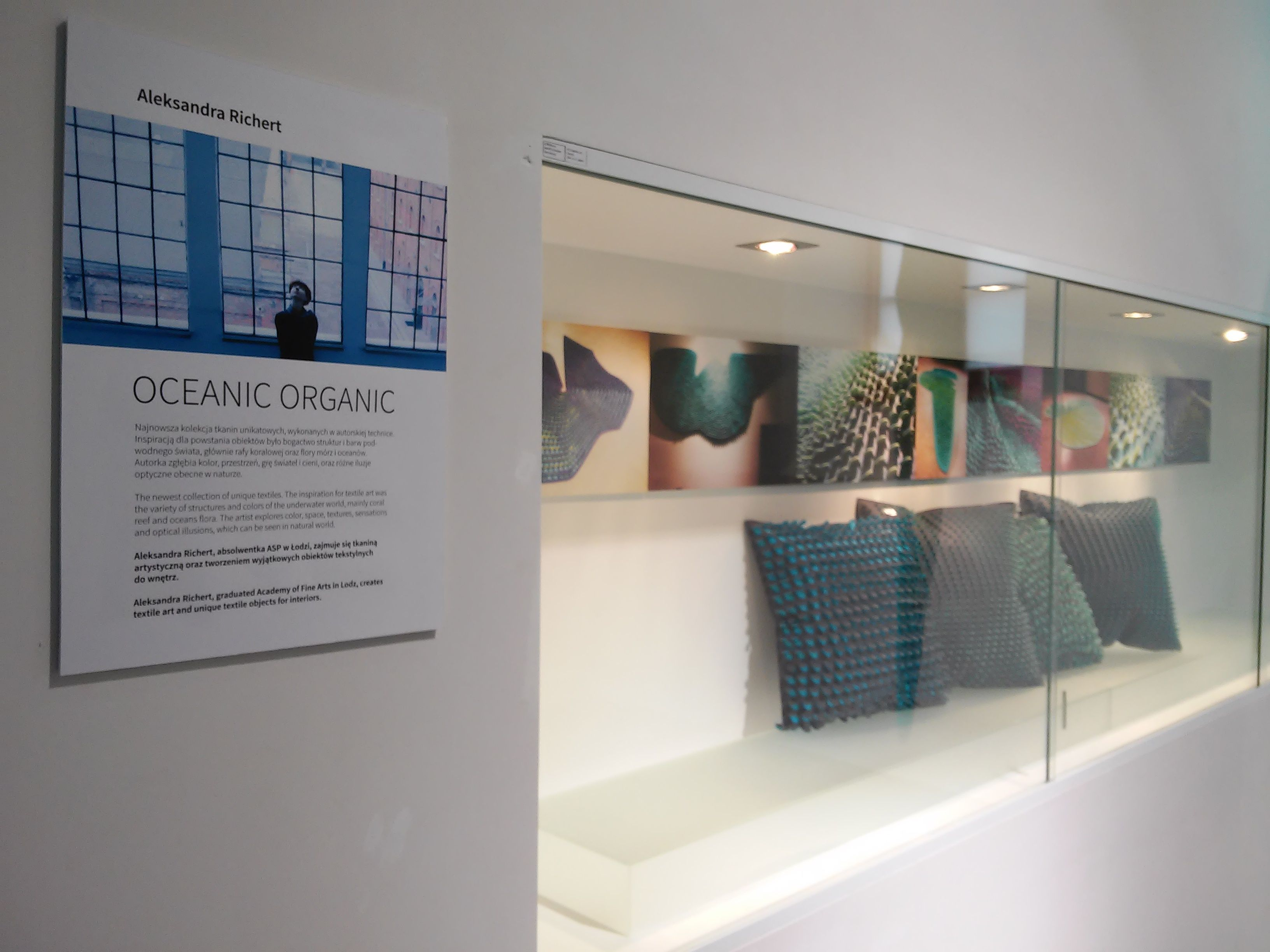 Exhibition In Institute Of Design Kielce 2015 Textile