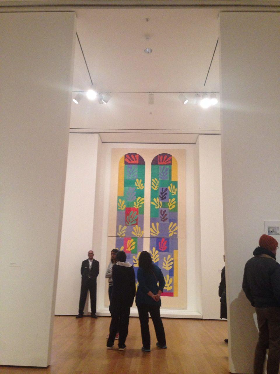 diegoooh:  Henri Matisse, Cut Outs, MOMA