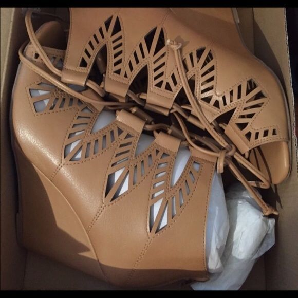 Charlotte Russe Wedges. Never worn. Size 8. Charlotte Russe Wedges. Never worn. Size 8. Charlotte Russe Shoes Wedges