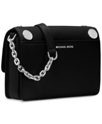 1c08efea2d278d Michael Michael Kors Rivington Stud Natalie Small Chain Messenger - Black
