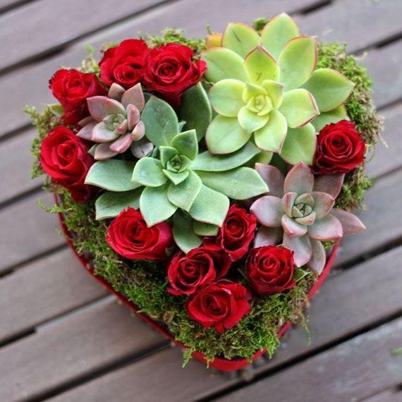 Flower decoration ideas for valentine s day flowers for Valentines day flower ideas