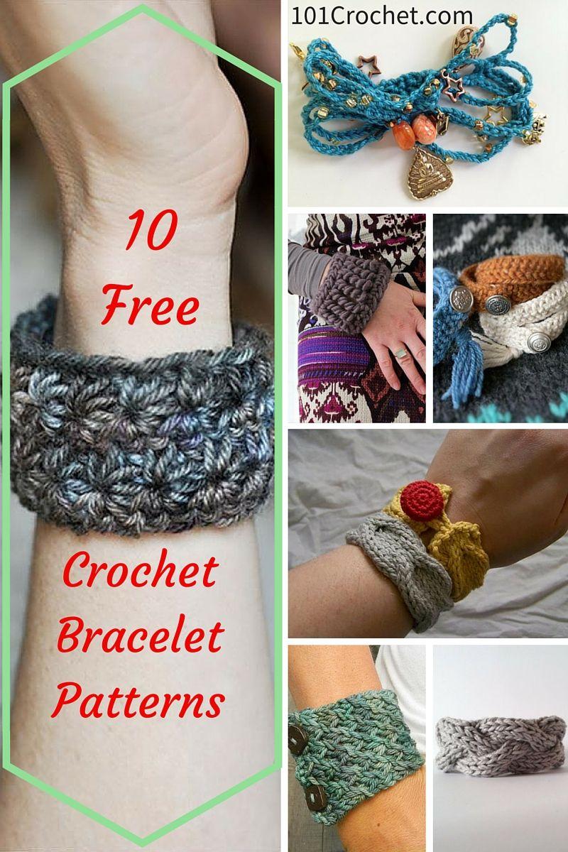 10 easy and free crochet bracelet patterns crochet bracelet 10 easy and free crochet bracelet patterns bankloansurffo Images
