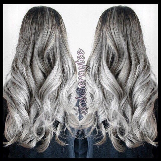 Deseraytee Grey Hair Inspiration Grey Hair Color Silver Hair Color