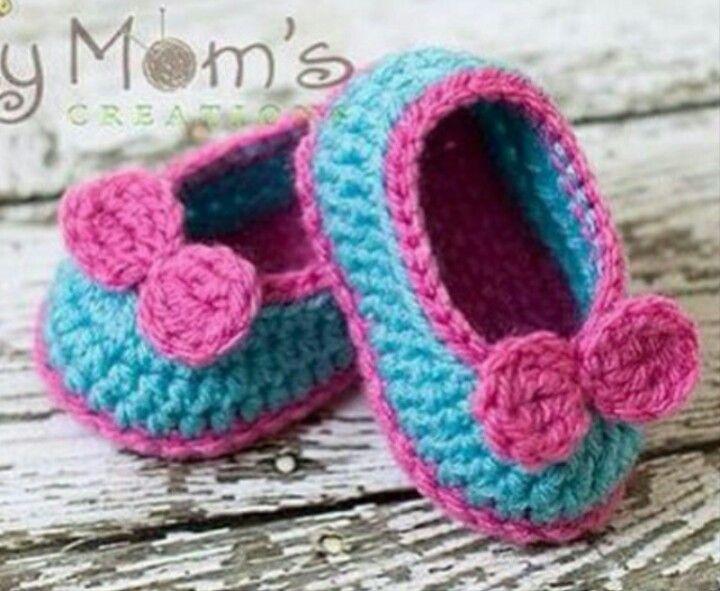 Instagram @mymomscreations - crochet baby booties | Crochet baby ...