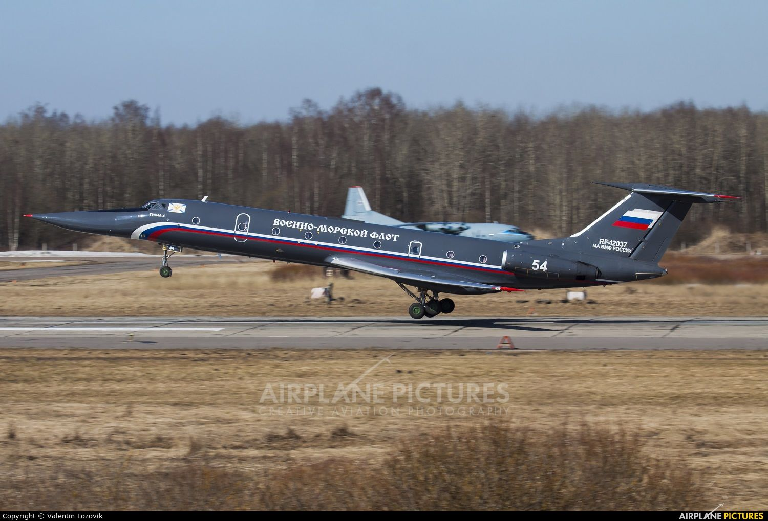 Russia Navy Tupolev Tu134UBL photo by Valentin Lozovik