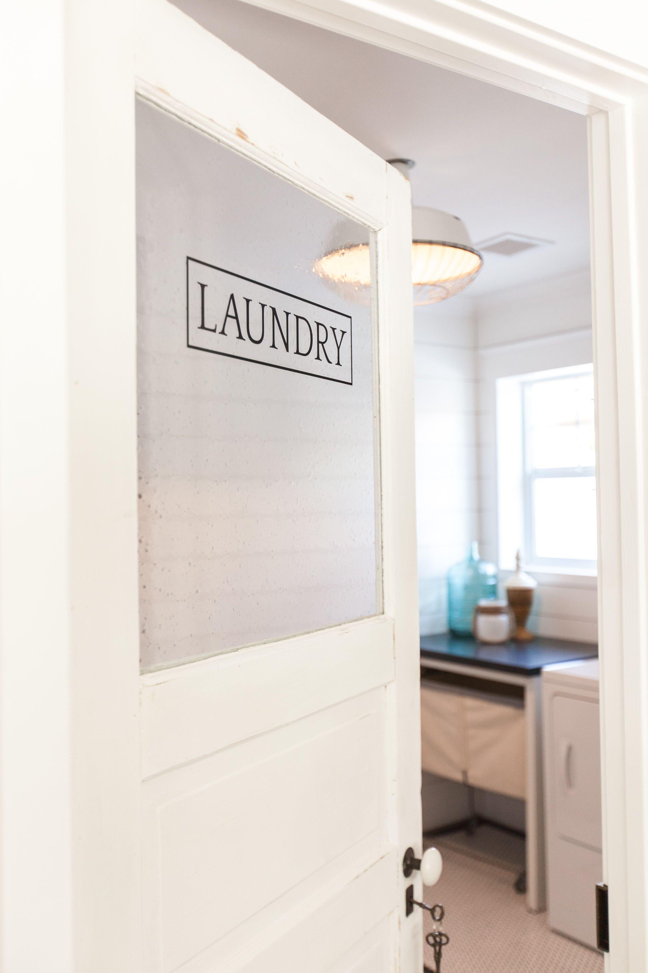 Vintage Door Repurposed As Laundry Room Door As Featured On Rafterhouse Pilot Show On Hgtv Laundry Room Doors Laundry Doors Vintage Doors Repurposed