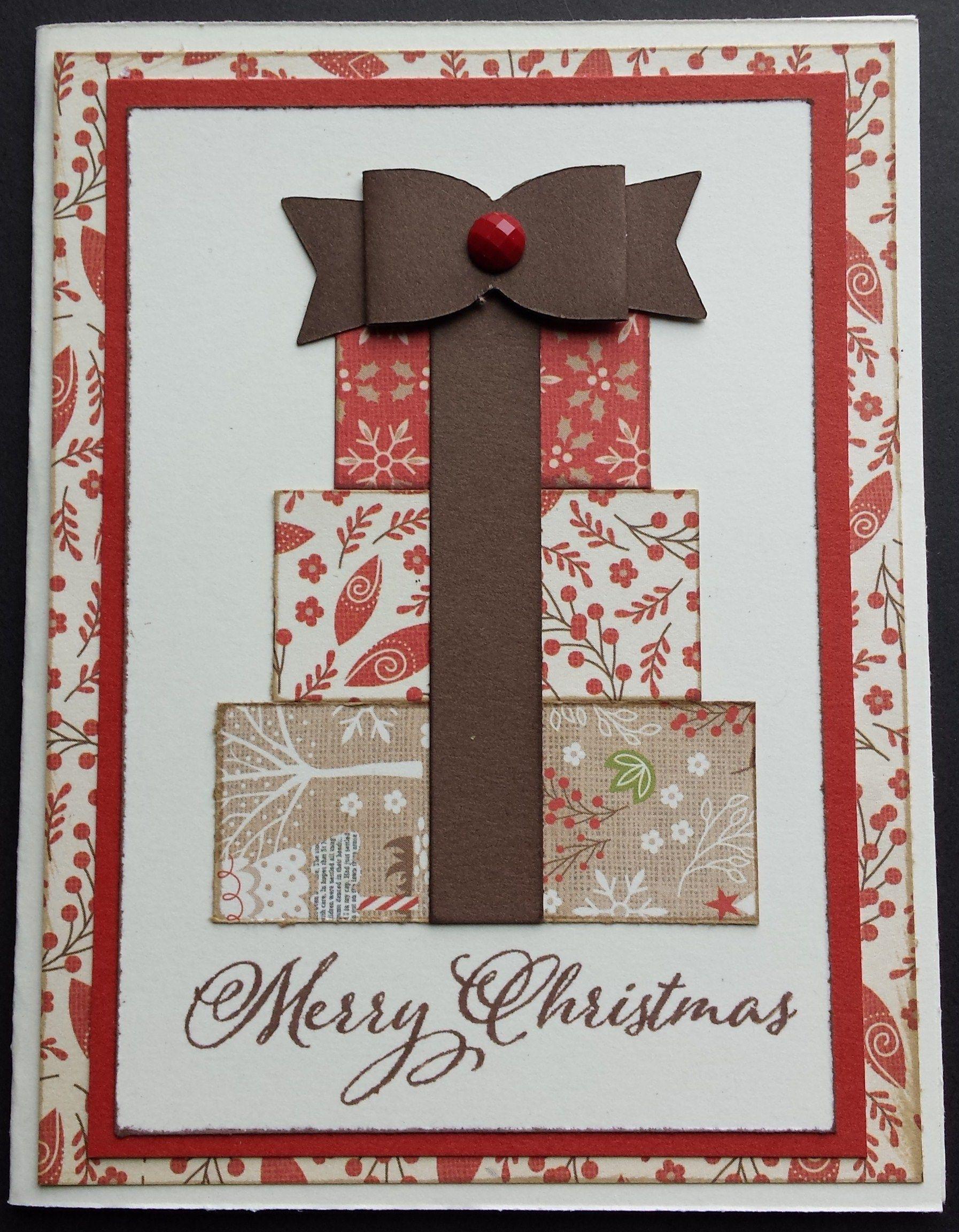 "» Christmas Card 2 ""White Pines"" Homemade"