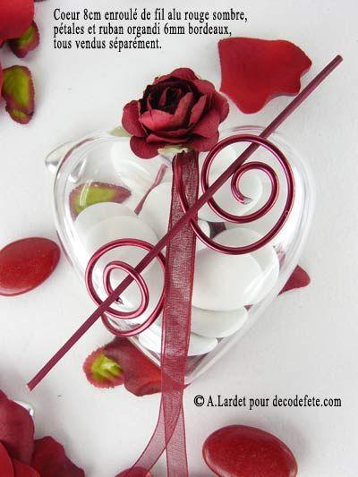 Réalisez des contenants à dragées originaux pour votre decoration de mariage bapteme communion naissance ou autre évènement à laide de cette boite