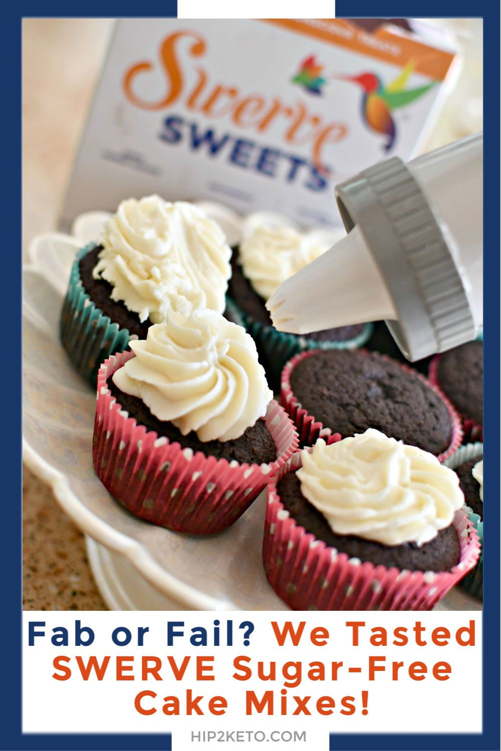 Fab or fail we tasted swerve keto cake mixes they may