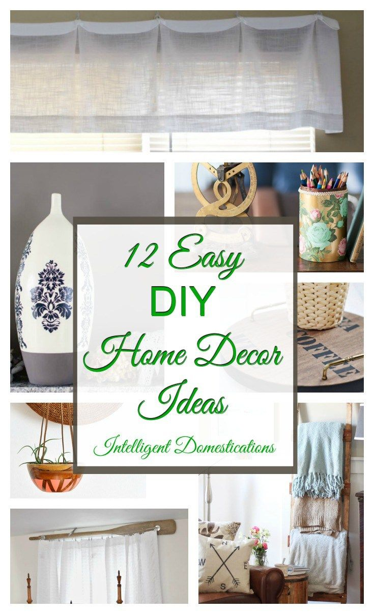 12 Easy DIY Home Decor Ideas & Merry Monday Link Up #144 | Idea ...