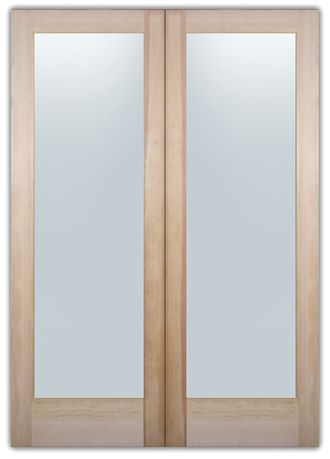 """Quantity: Pair $330 per, $697.32 subtotal.  Etched Glass Door with Decorative Glass  Location: Laundry Room plain or w/text &design Dimensions: 28"""" (2/4) x 80"""" (6/8) Solid Frost: $278.00 Wood Type: Douglas Fir Door Type: Book Door Door Thickness: 1-3/8"""" Bore Hole: The bore hole will not be included Door Price: $330.00 Glass Size: 19.625"""" x 66.875""""Glass Price: $89.32 Delivery ETA: Approx. 3 weeks Text placement adjusted as necessary on actual product.$697.32 Shipping from $99! shipping info"""