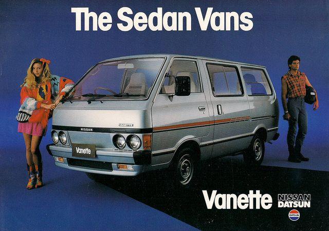 1983 Nissan Datsun Vanette Datsun Nissan Japan Cars