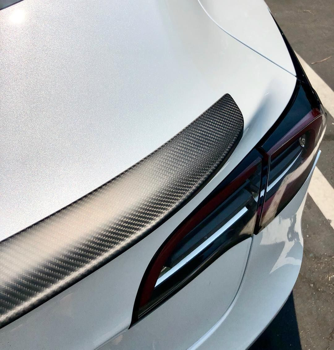 Tss Daily Spoiler >> Tesla Model 3 Carbon Fiber Spoilers From 229 Glossy Or