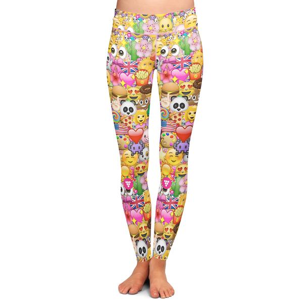 d6af1cf96bb0da Emoji Yoga Pants - Berry Jane | Yoga Clothing | Printed yoga pants ...