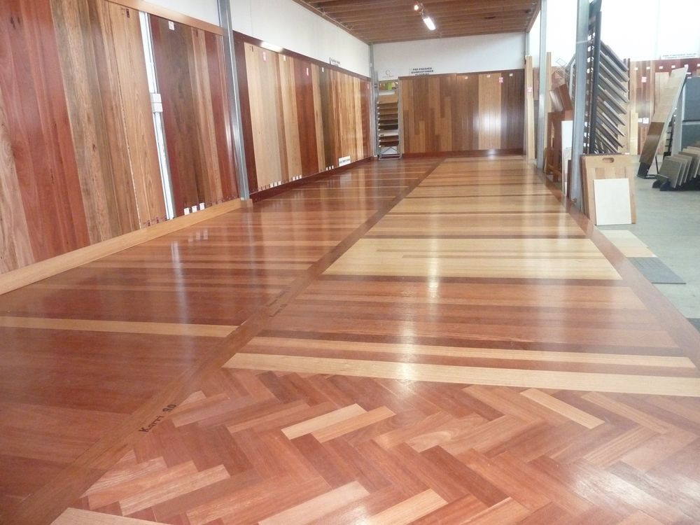 Parquetry Karri 260x65x14 Select Grade, Solid Timber