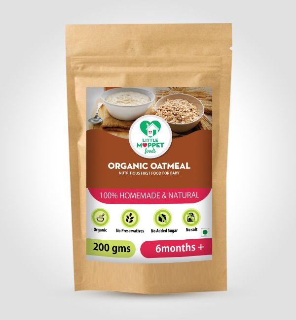 Buy Organic Oatmeal For Babies Online India