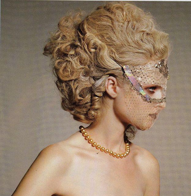 Www Melissamariehair Com Bridal Hair Wedding Hair Up: Lace Mask, Masquerade