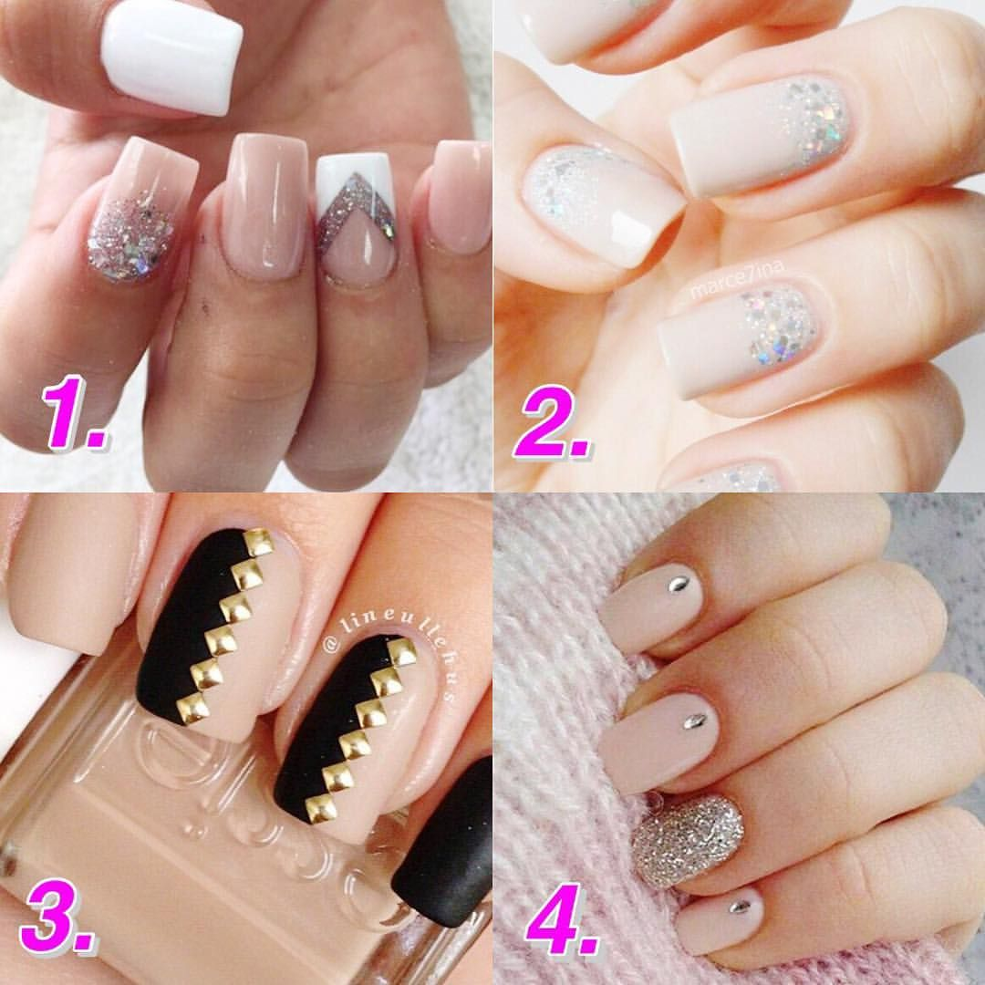 Love nude nails ... What design should I get for my Tampa trip?! 1,2 ...