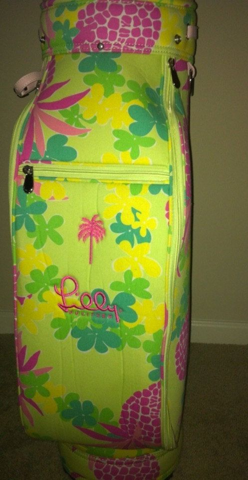 85a570c9ec8d23 CAN I HAVE THIS PLEASE-RARE Lilly Pulitzer Golf Bag | Golf Clubs ...