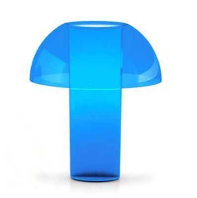 Lampe De Table Colette L Bleu Transparent Www Amateurdedesign Com Lampes De Table Lampe De Table Design Lamp