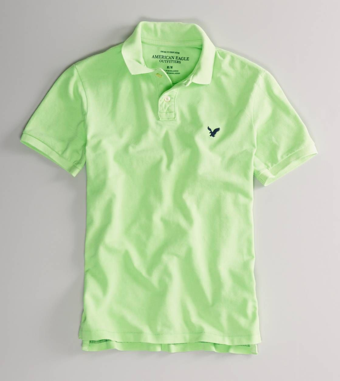 b7332146 AE Vintage Fit Pique Polo   Clothes I need   Mens outfitters, Polo ...