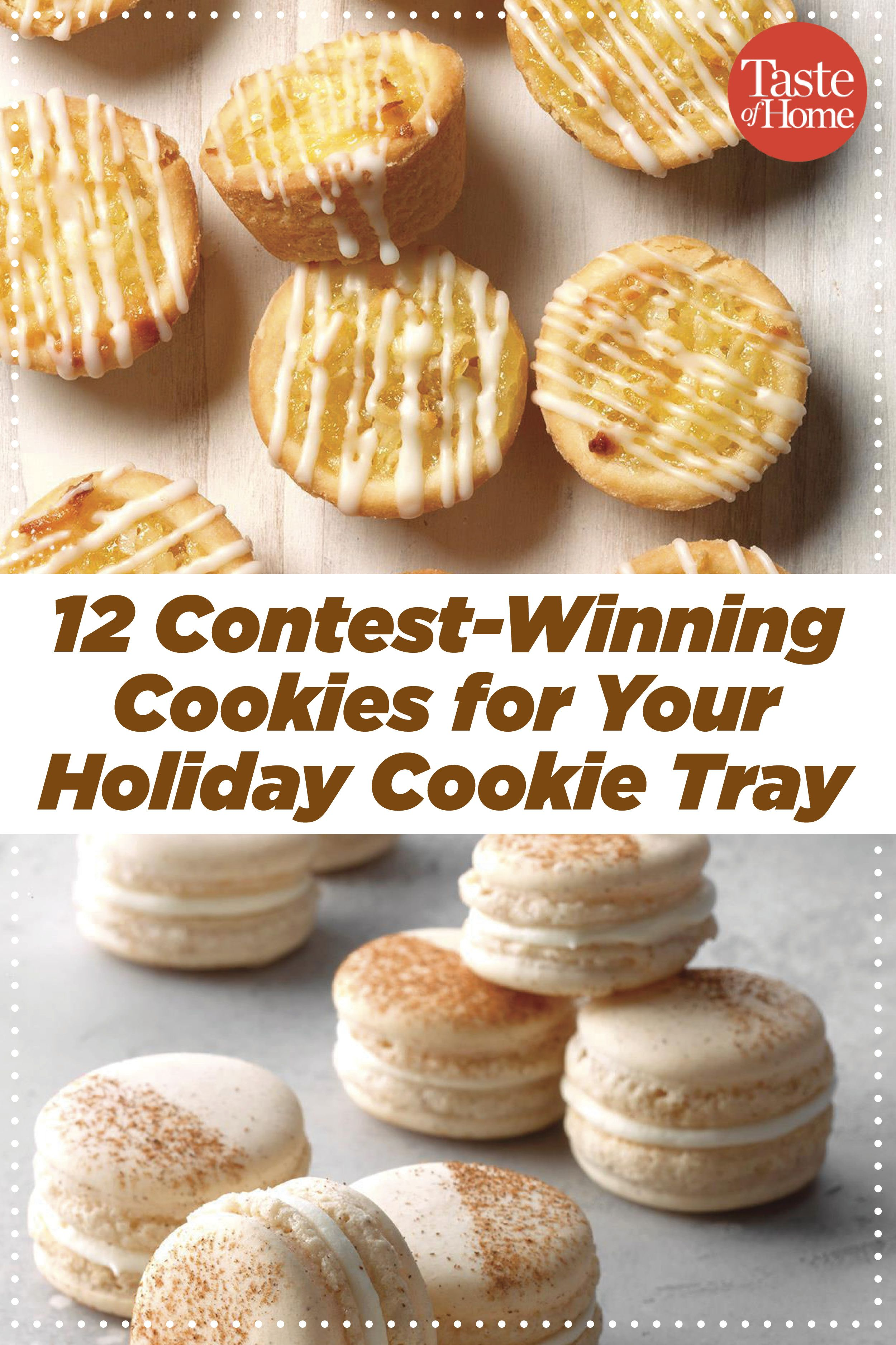 12 Contest Winning Cookies For Your Holiday Cookie Tray Cookies Recipes Christmas Cookie Recipes Cookie Contest