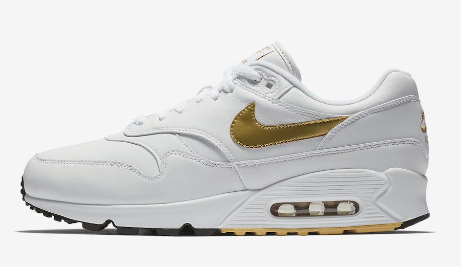 competitive price d2680 b7044 Nike Air Max 90/1 White/Gold $100 Shipped on eBay (Retail ...