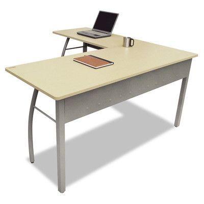 Latitude Run Aisha Corner Writing Desk Finish: