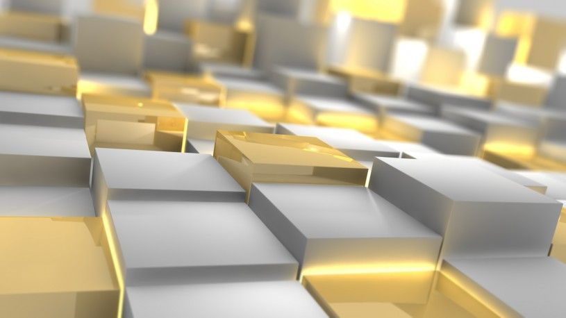 Extra Wallpapers Gold And Silver Shiny Cubes 3d Cube Wallpaper Hd Wallpaper Wallpaper 1920x1080 White light gold desktop wallpaper