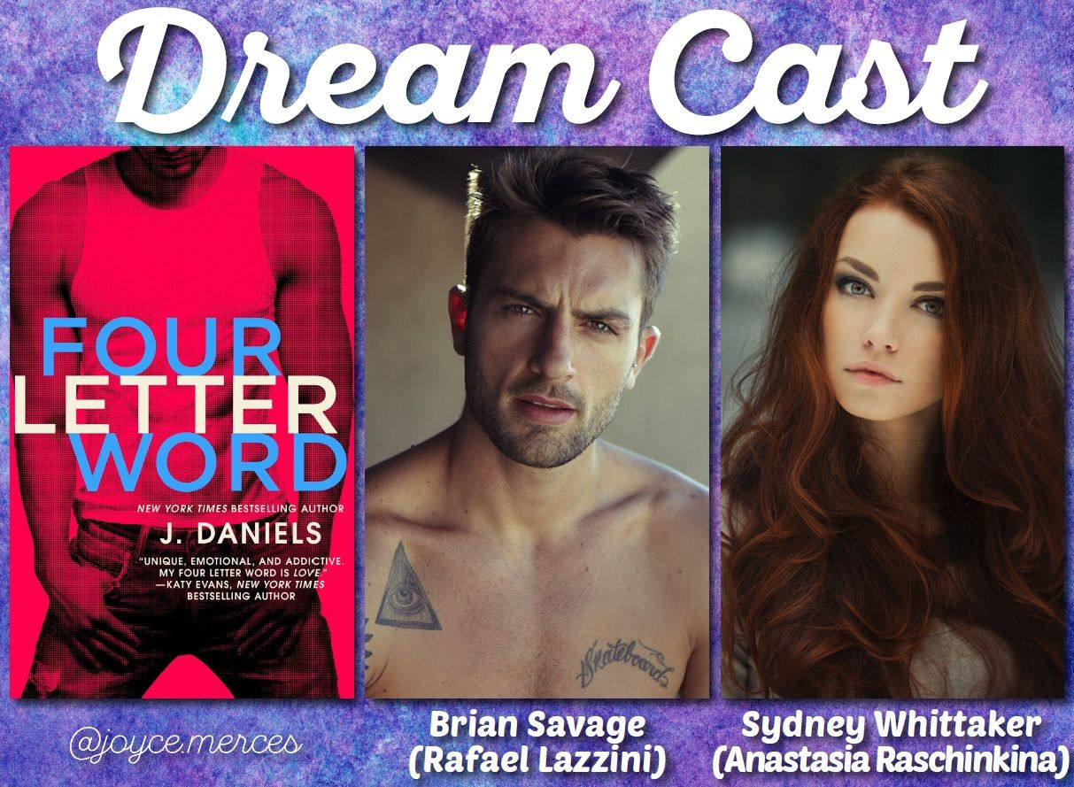 Four Letter Word By J Daniels My Dream Casts In 2018 Pinterest