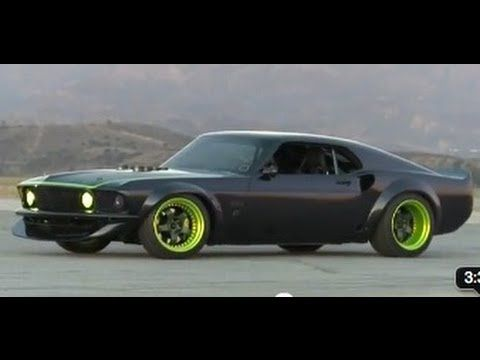 Hot Rod Goes Drifting With Vaughn Gittin Jr S Rtr X Mustang