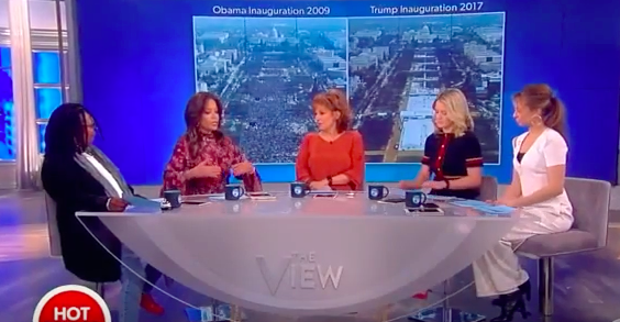 HYSTERICAL:  Joy Behar and Company Are In Full Meltdown Mode Over POTUS Trump (Video)