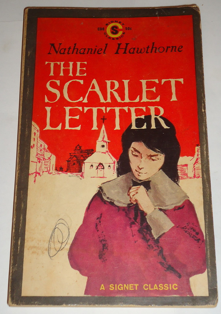Scarlet Letter Book Cover Ideas ~ The scarlet letter a signet classic paperback published