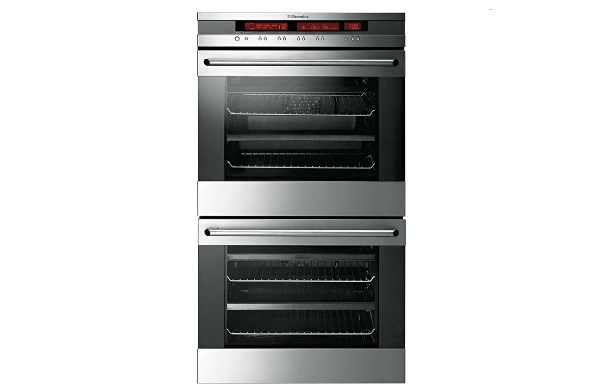 Electrolux 60cm Stainless Steel E:Line Double Wall Oven from Harvey ...