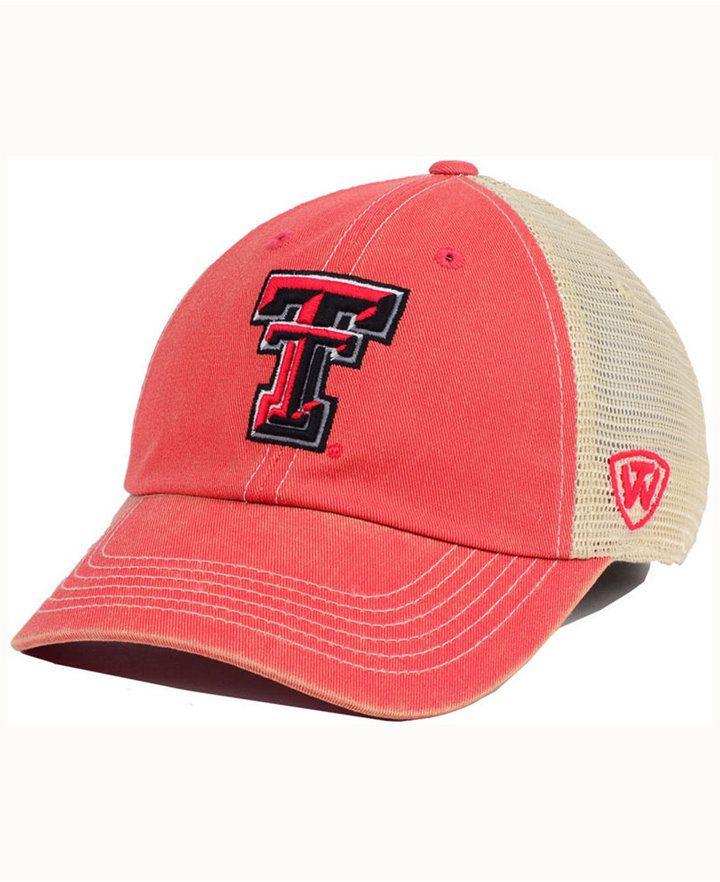 c6d377c0 Top of the World Kids' Texas Tech Red Raiders Wickler Mesh Cap ...