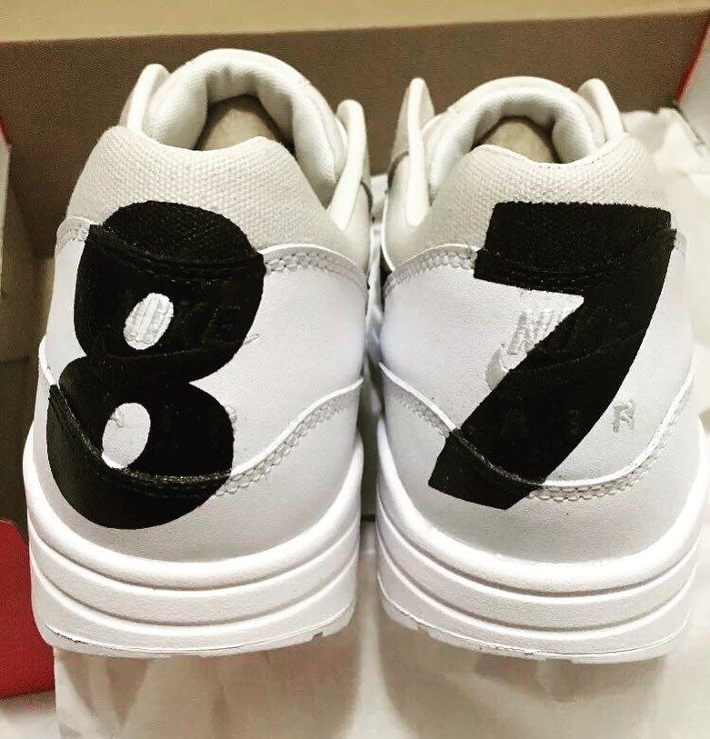 8b15069b370 Nike Air Max 1 Premium BW White Black Phantom Iron Ore 512033-105  nike   minimalism  minimal  monochrome  nike  airmax  airmax1  igsneakers   instakicks ...