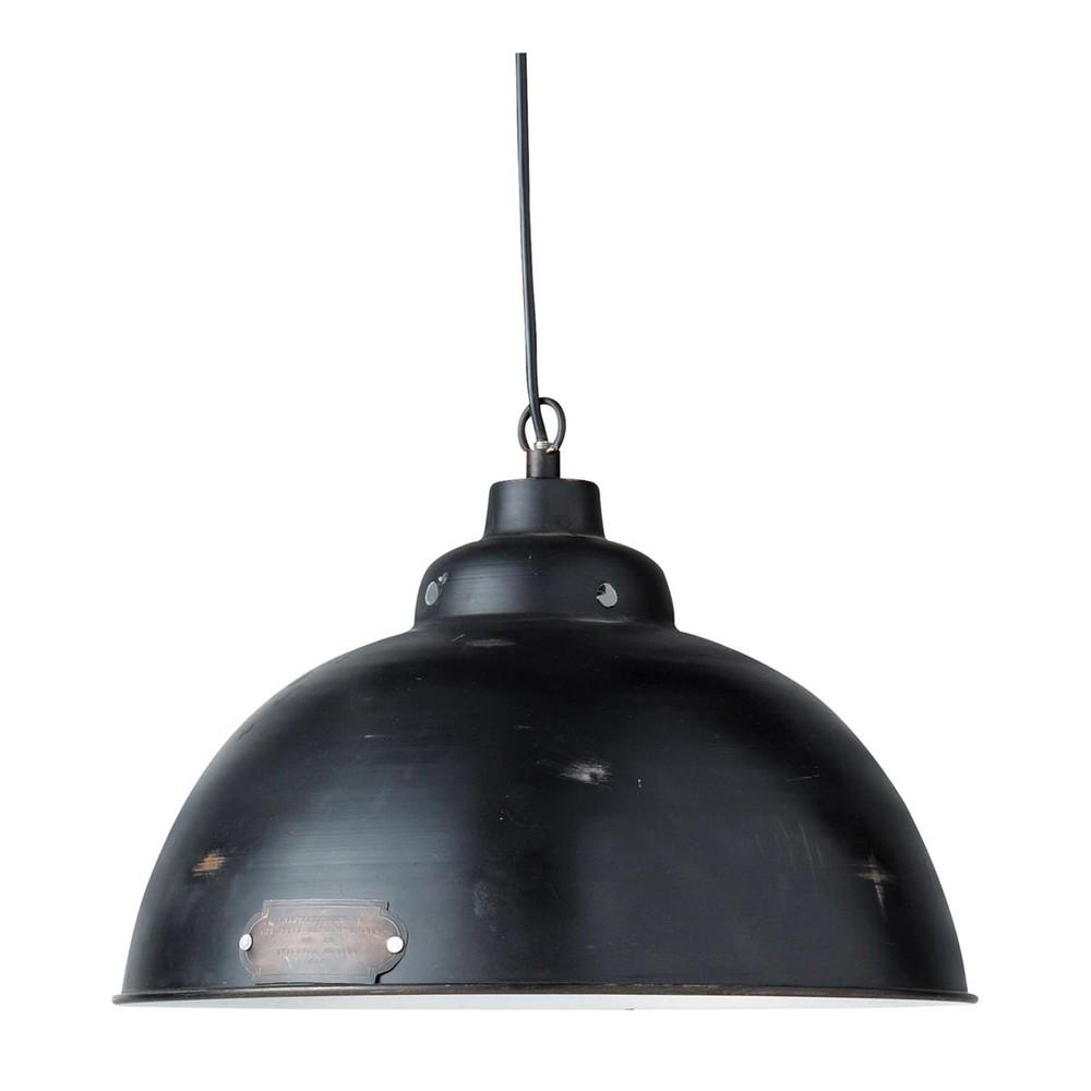 Hängeleuchte im Industrial-Stil aus schwarzem Metall ...