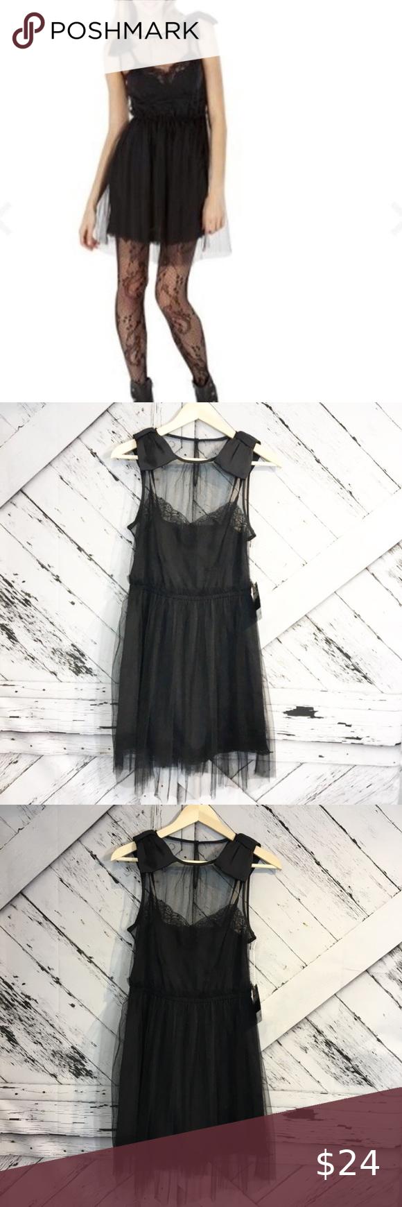 Rodarte For Target Black Bow Cocktail Dress Target Dresses Night Out Dress Black Bow [ 1740 x 580 Pixel ]