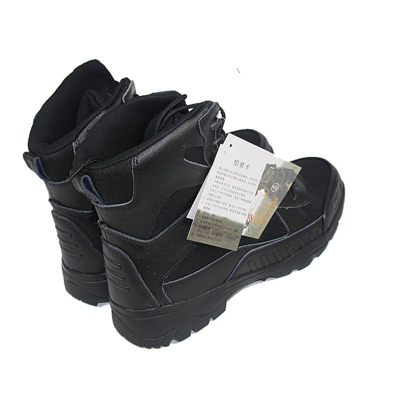 Military Tactical Boots Desert Combat Outdoor Army Hiking Travel Boots Leather Autumn Ankle Male Boots Plus Size 39-45