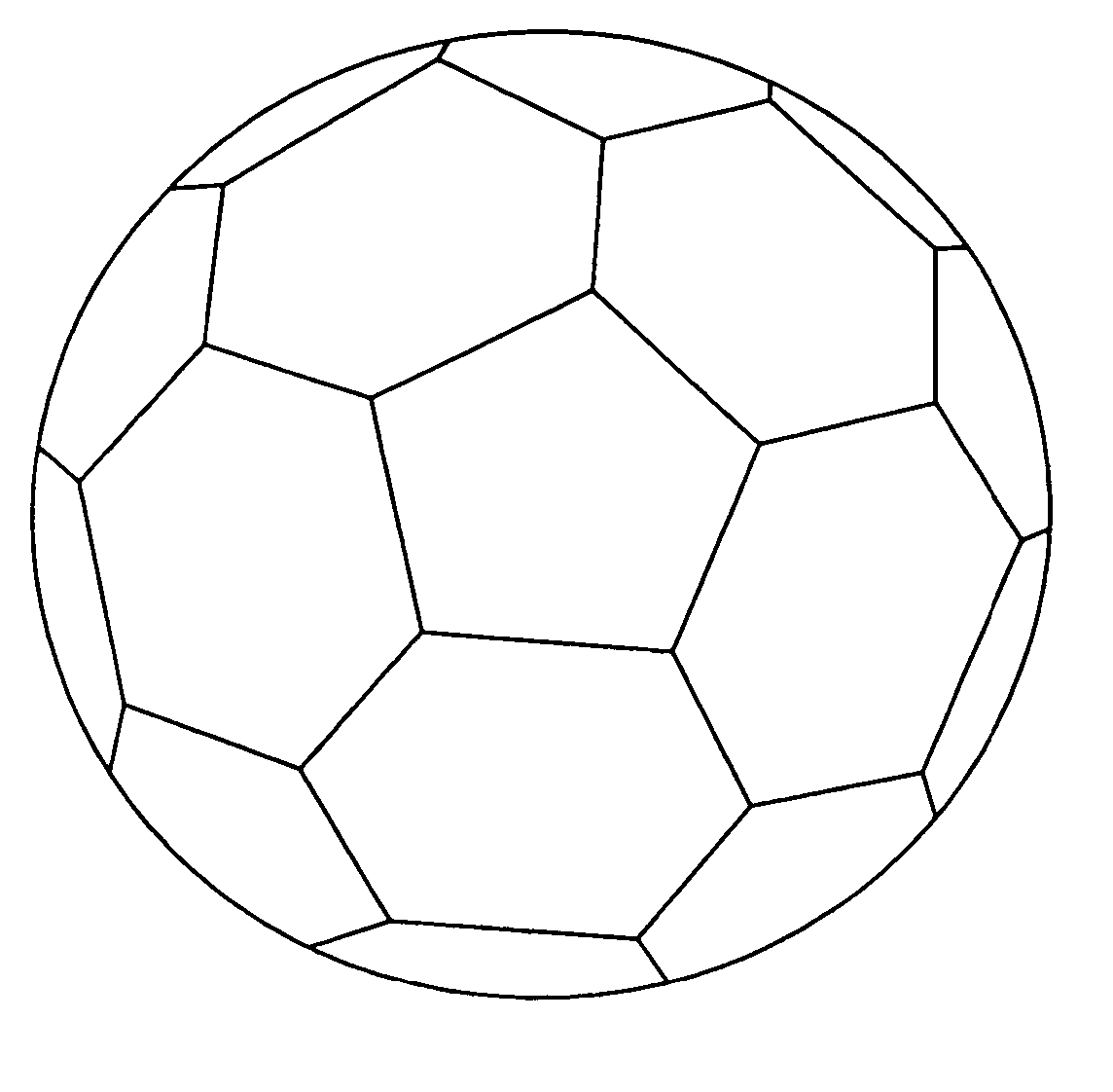 Soccer Ball Coloring Page Soccer Ball Soccer Football Coloring Pages