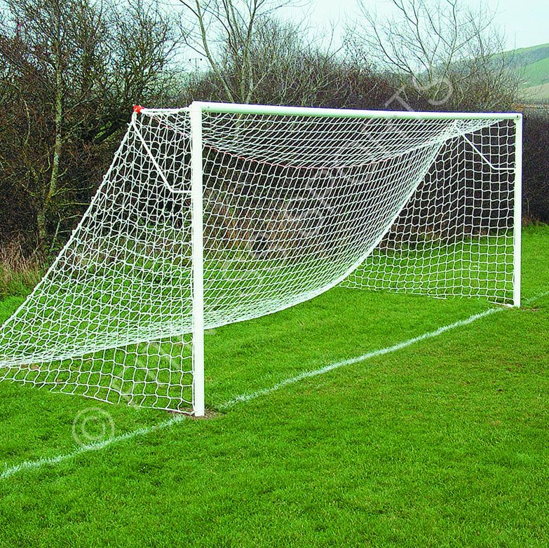 Fitness Sports Ground Socketed Steel Football Goals Ideal For Use In Parks Schools Play Areas And Open Spaces Football Football Goal Post Football Goal Posts
