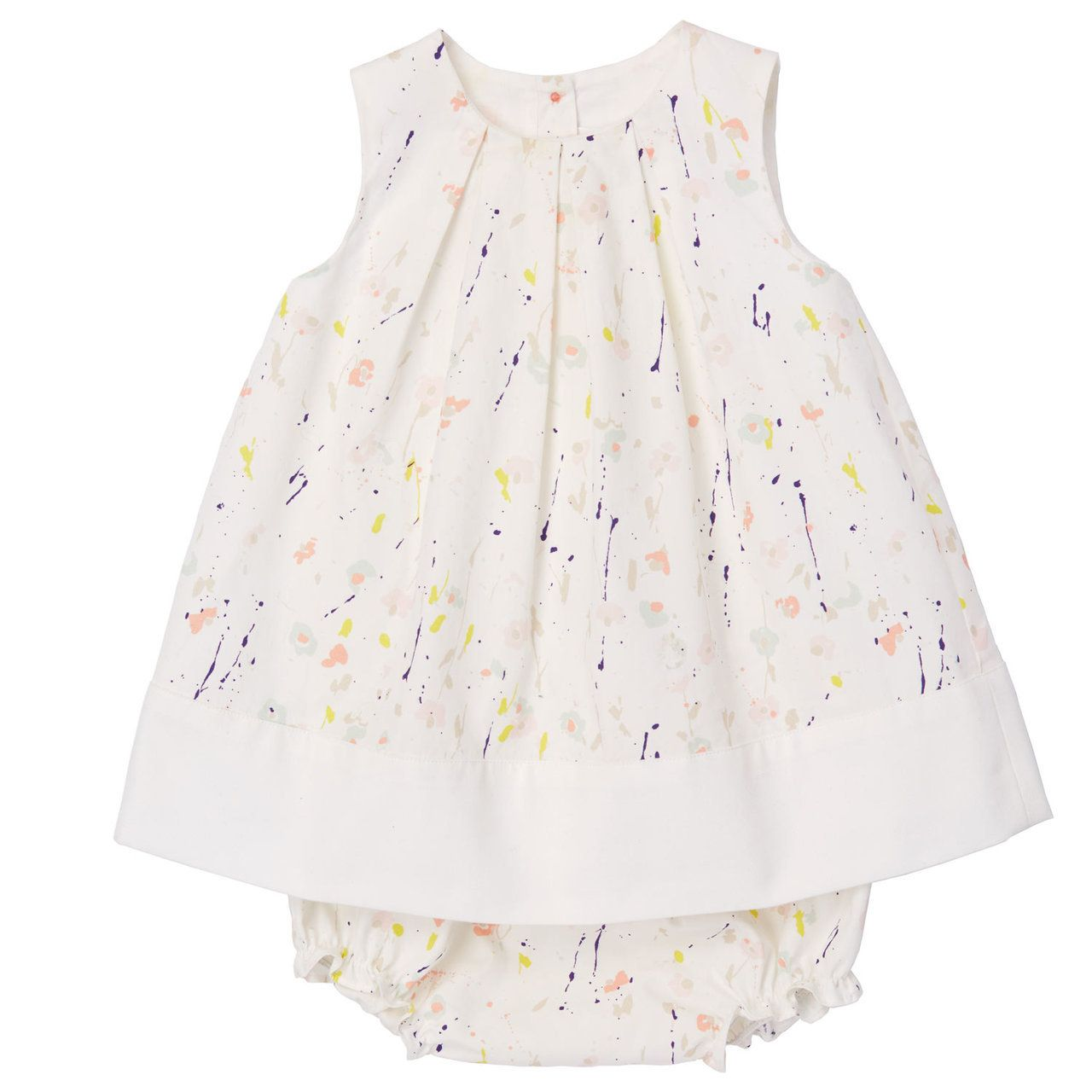 Painted Flower dress and Bloomer