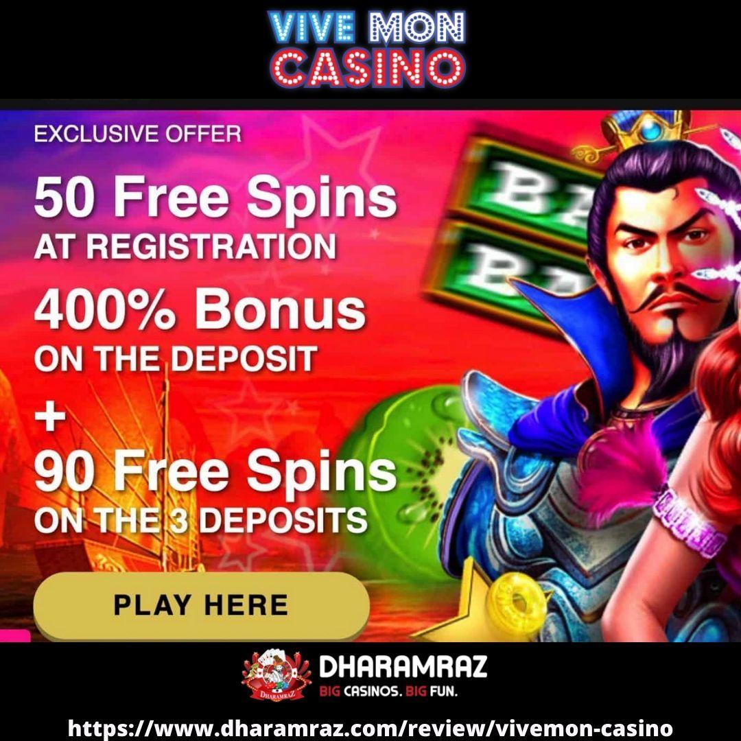 Free online casino with no deposit bonus play vive mon