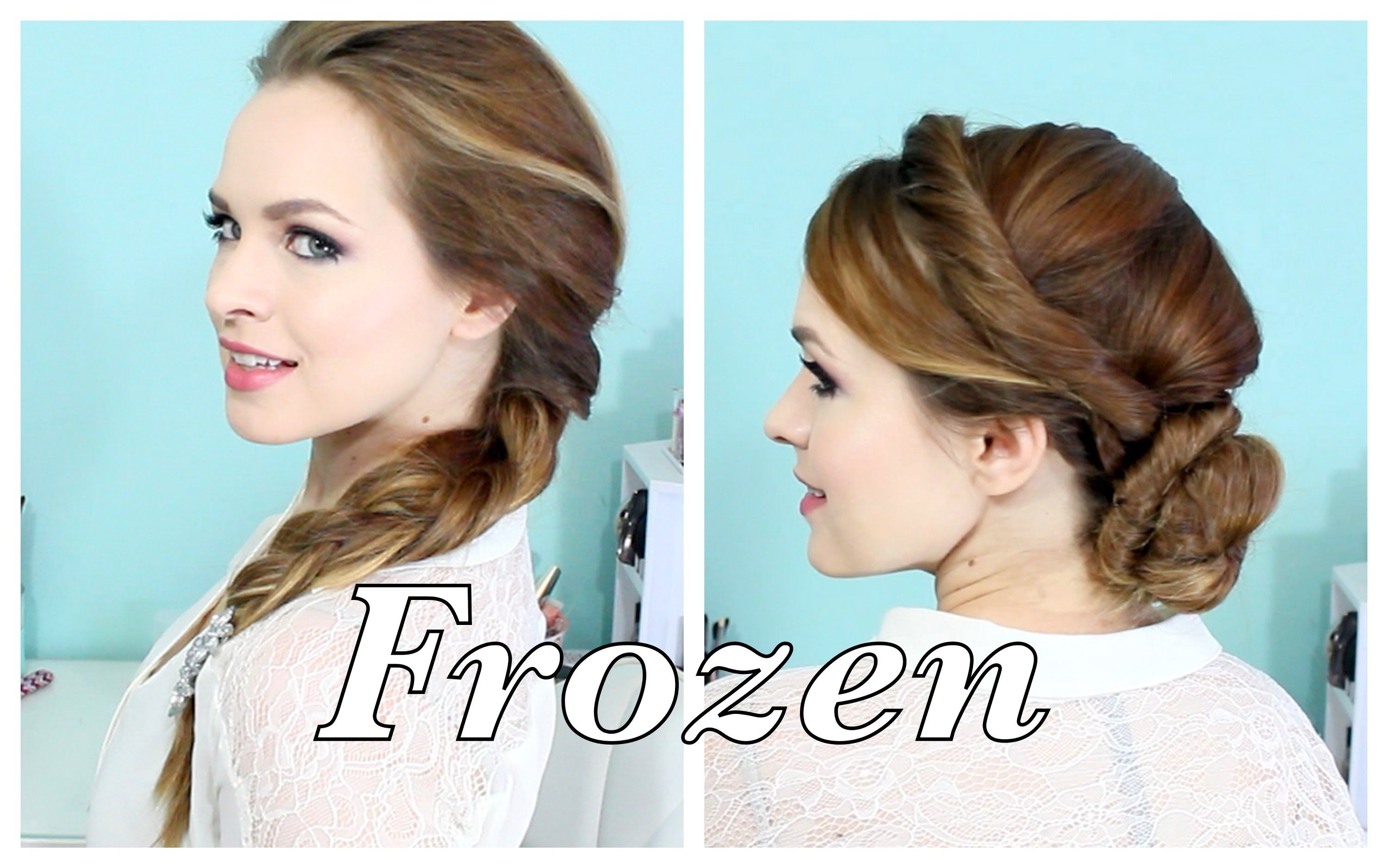 elsa hair style pin by alex b on hair tutorials hair styles 1554