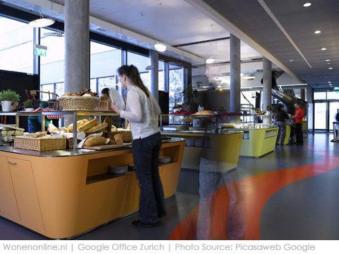 Kantoorinrichting Van Hypernuit : Binnengluren bij google californië google en kantoorinrichting