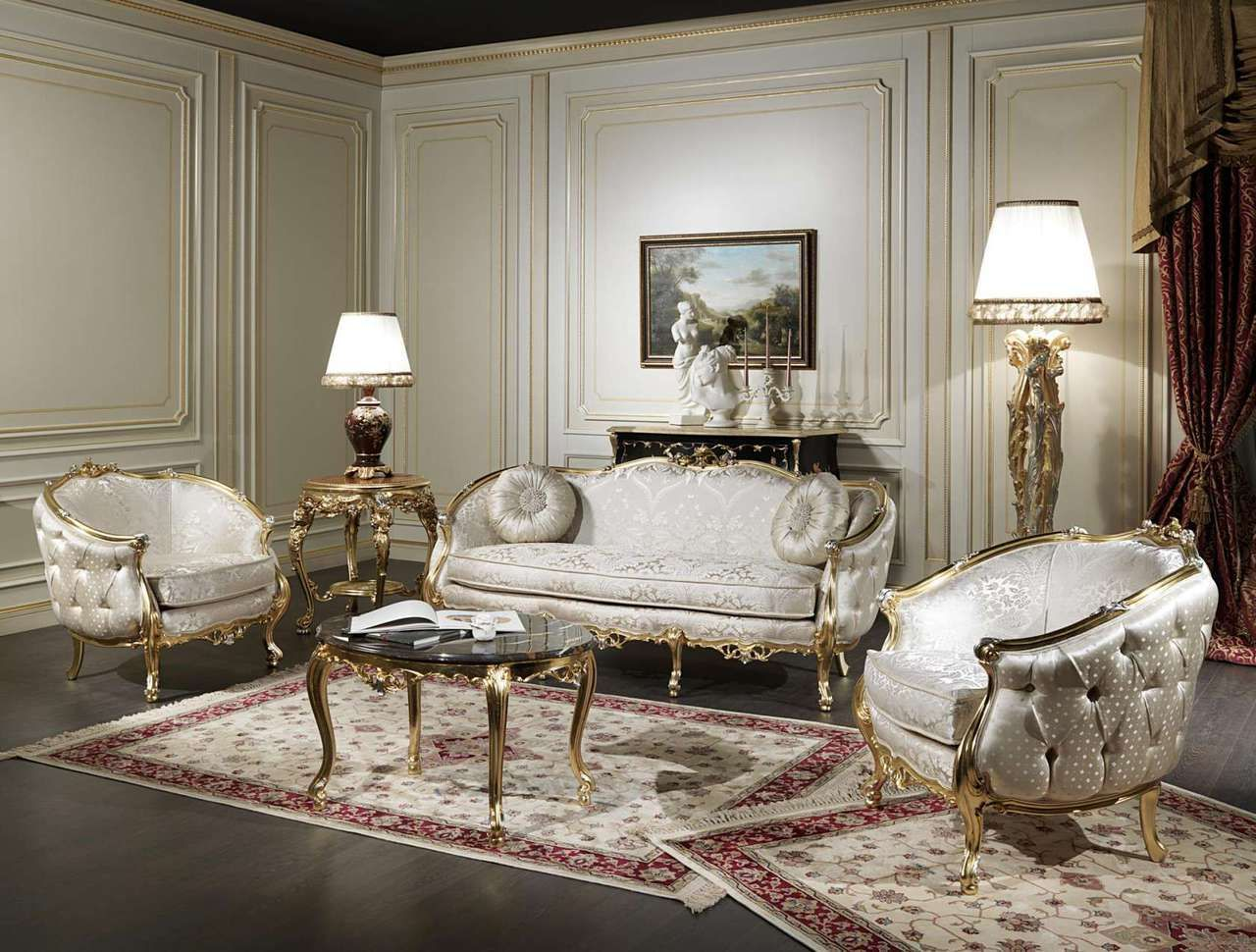 Fabulous living room sets for you to choose from our luxury furniture store online venesia classic