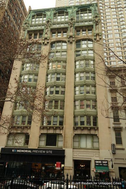 new york city boroughs manhattan art nouveau evening post