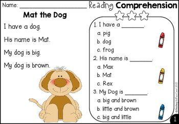 Free kindergarten reading comprehension and questions teach free kindergarten reading comprehension ibookread Download